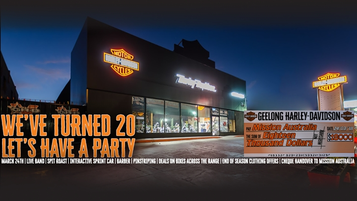 20 Years of Geelong H-D Celetion · 24th March 2018 · Geelong ...