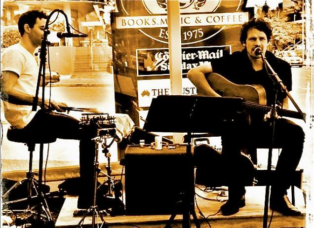 Andrew Taylor Duo in the Pimms Bar