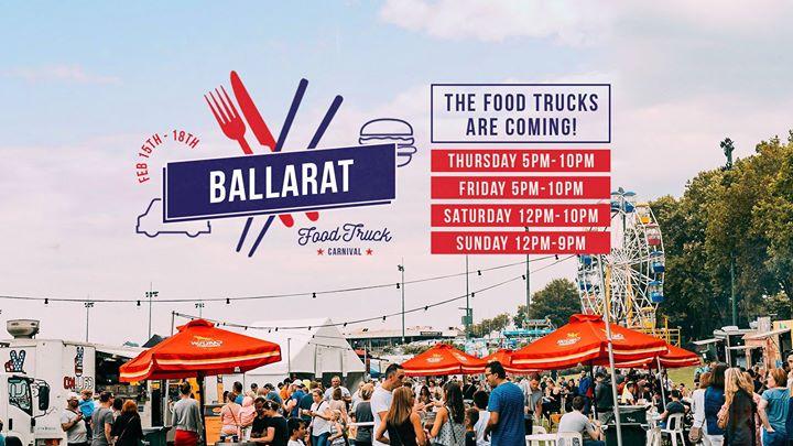 Ballarat Food Truck Carnival (FREE EVENT)
