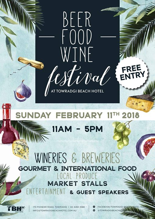 Beer, Food & Wine Festival 2018 · 11th February 2018 · Wollongong ...