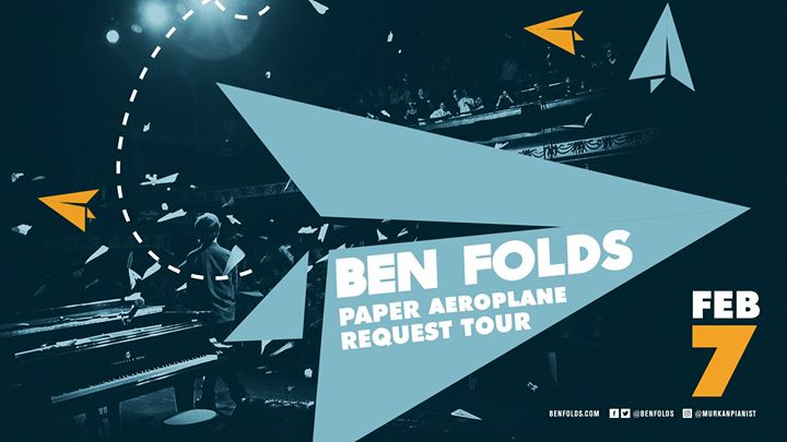 Ben Folds: Paper Aeroplane Request Tour