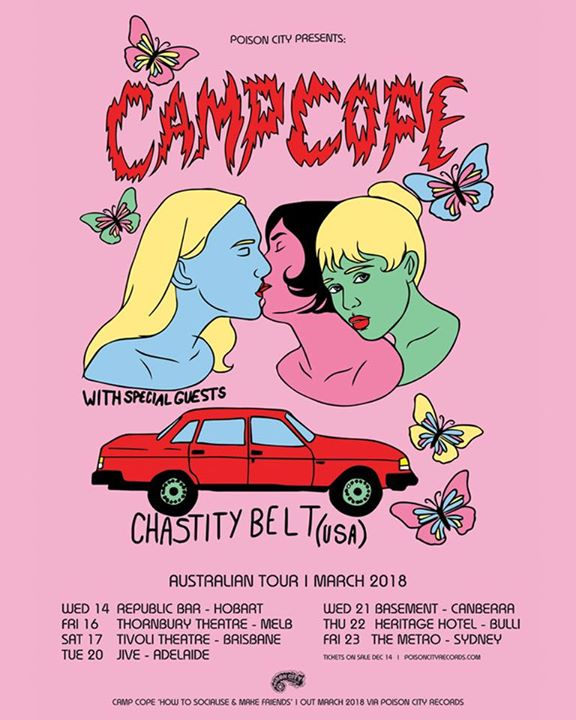 CAMP COPE w/ Special Guests Chastity Belt (USA) // Hobart