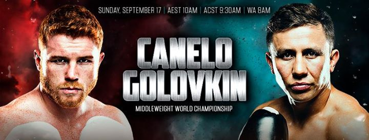 Image result for canelo vs golovkin