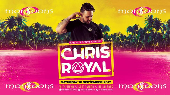 Chris Royal at Monsoons