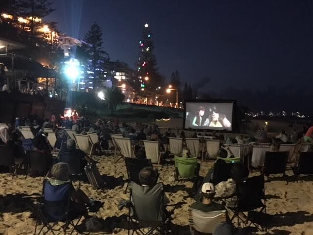 Cinema in the Sand - Mooloolaba Beach