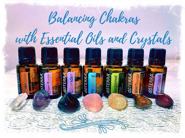 Booked Out - Crystals & Chakras / Oracle & Oils!