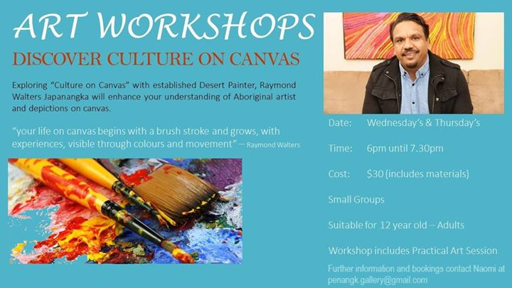 Culture on Canvas - Art Workshops