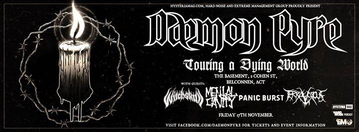 Daemon Pyre w/ Witchskull, Mental Cavity, Panic Burst, Terravorous
