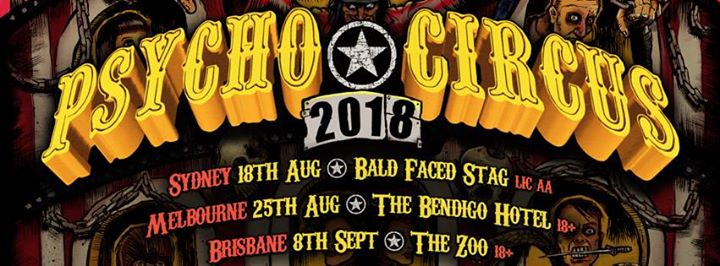DARKCELL's Psycho Circus 2018 Melbourne
