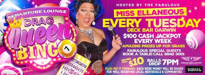 Deck Bar Drag Queen Bingo