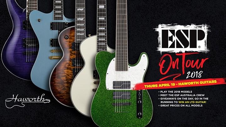 ESP On Tour 2018 - Haworth Guitars