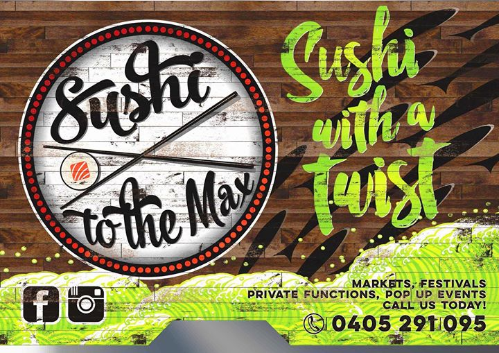 Food Truck Fridays - 8th Dec - Sushi To The Max