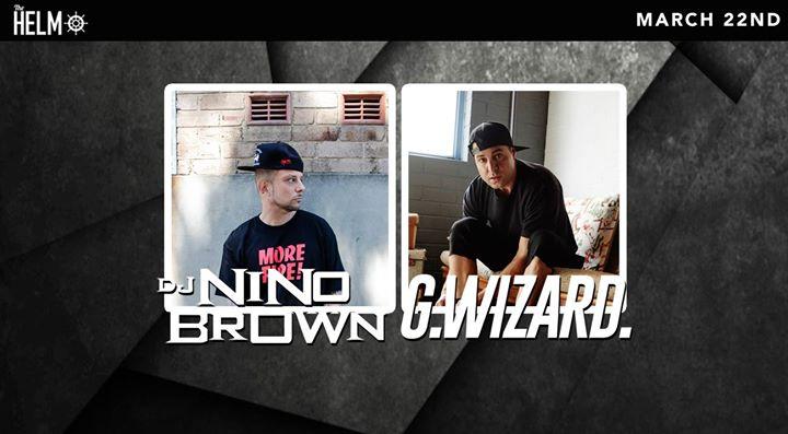 G-Wizard + Nino Brown // Helm