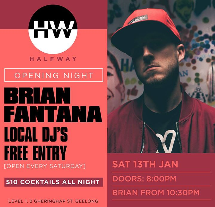 Halfway Opening Night feat. Brian Fantana