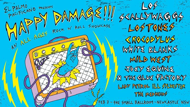 Happy Damage (ALL AGES) - The Small Ballroom
