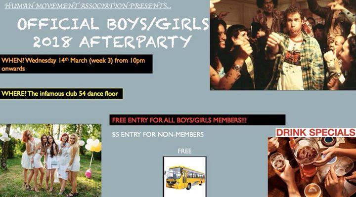 HM Boys & Girls Night