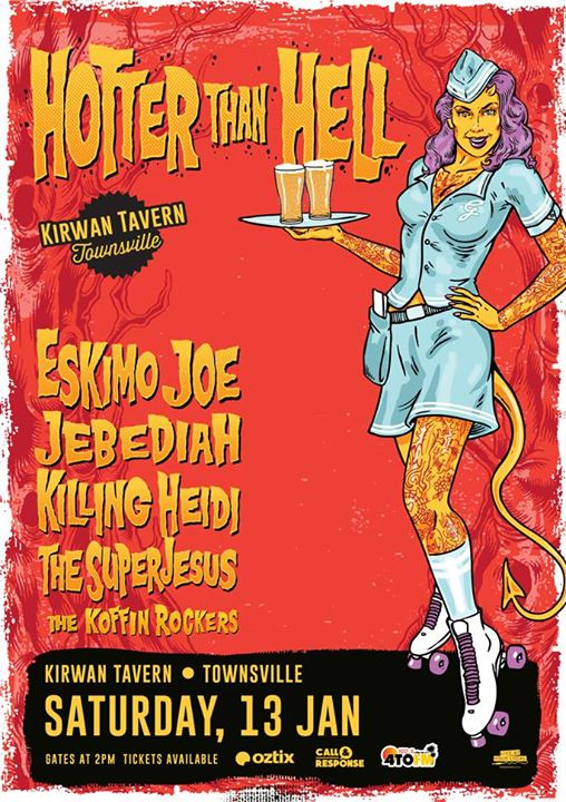 Hotter Than Hell Tour - Townsville