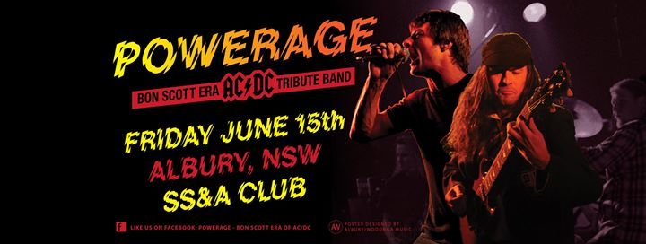 Powerage at SS&A Club, Albury