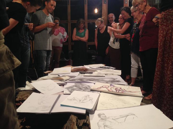 Life Drawing at Dust Temple