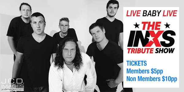 Live Baby Live: The INXS Tribute Show at Swansea RSL