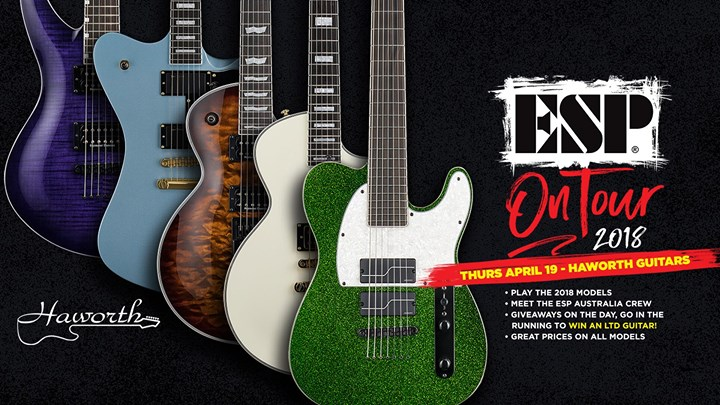 ESP On Tour 2018 - Haworth Guitars