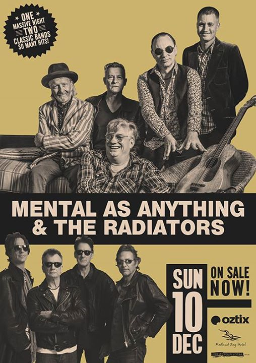 Mental As Anything & The Radiators