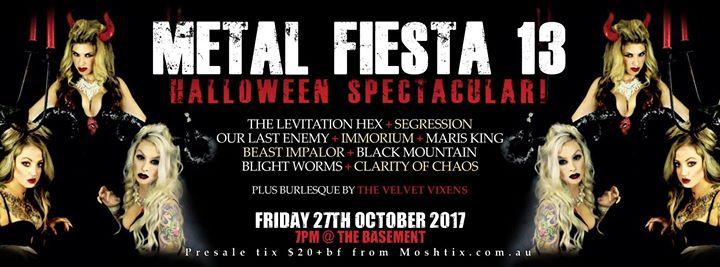 Metal Fiesta 13 - Halloween Spectacular!