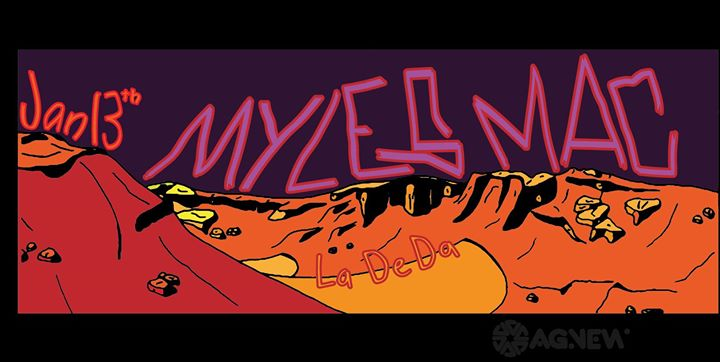Myles Mac at La De Da
