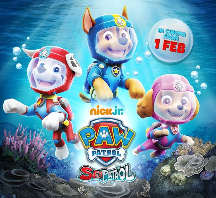 Nick Jr: Paw Patrol: Sea Patrol · 28th January 2018 · Darwin · Look ...