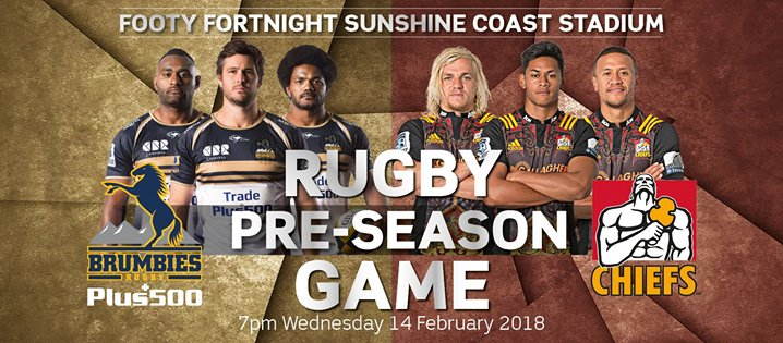 Plus500 Brumbies VS Gallagher Chiefs