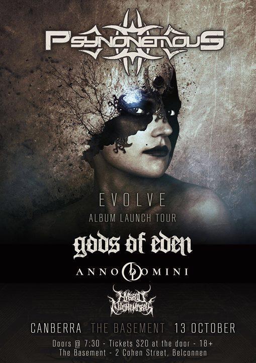 Psynonemous 'Evolve' Album Launch Tour