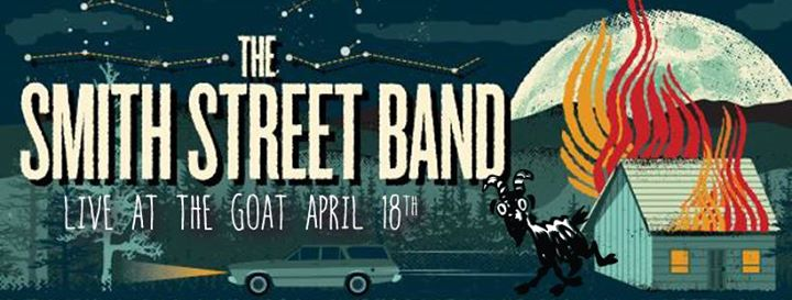 Rockhampton - The Smith Street Band, Bec Sandridge & Press Club