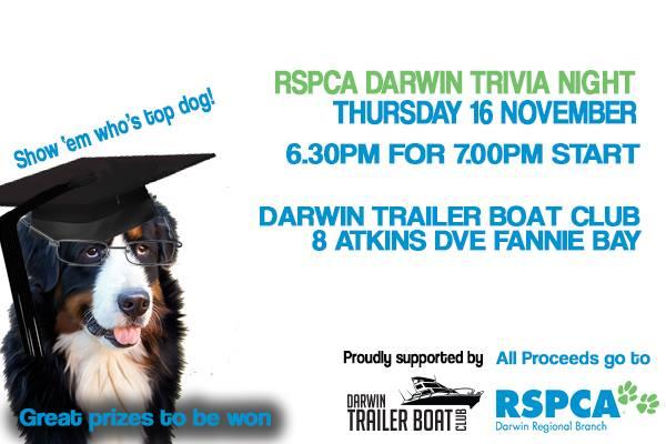 RSPCA Darwin Trivia Night