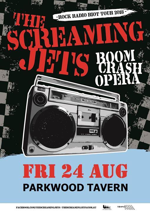 The Screaming Jets + Boom Crash Opera