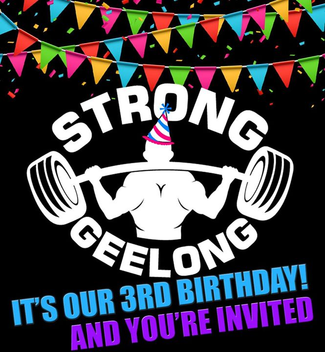Strong Geelongs 3rd Birthday!