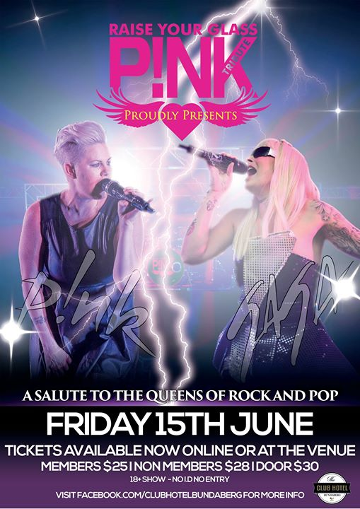 Raise Your Glass presents P!NK vs GAGA