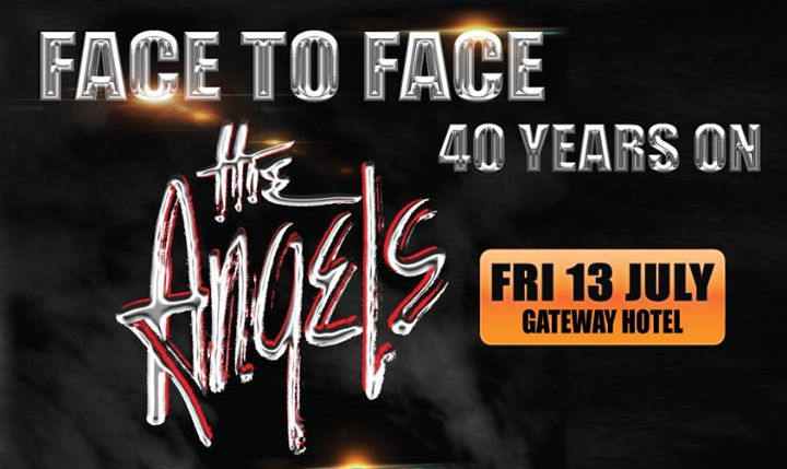 The Angels - Face to Face Tour