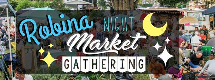 This Friday! The Robina Night Market  - food, markets, music