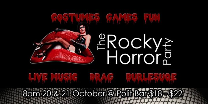 The Rocky Horror Show Party #2 - live music, drag, burlesque