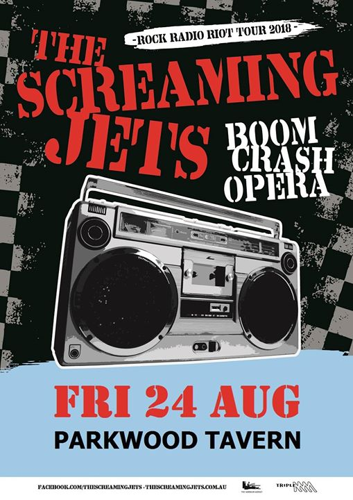 The Screaming Jets + Boom Crash Opera