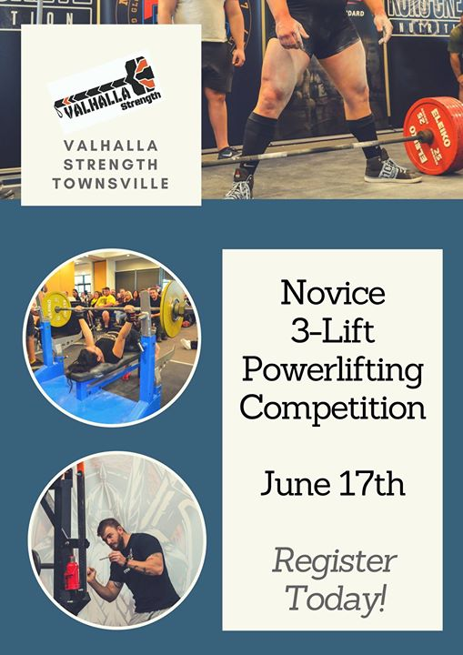 Novice Powerlifting Comp - June 17th