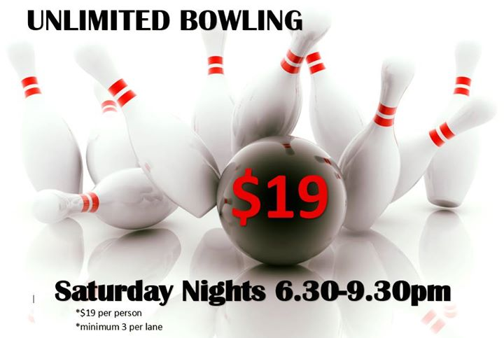 Unlimited tenpin bowling