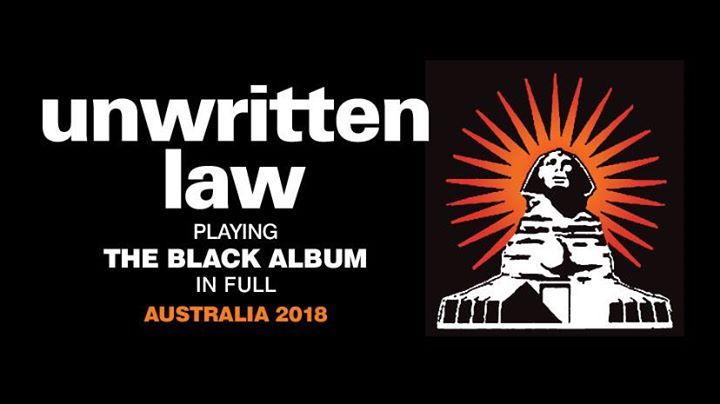 Unwritten Law - playing The Black Album - Newcastle SOLD OUT