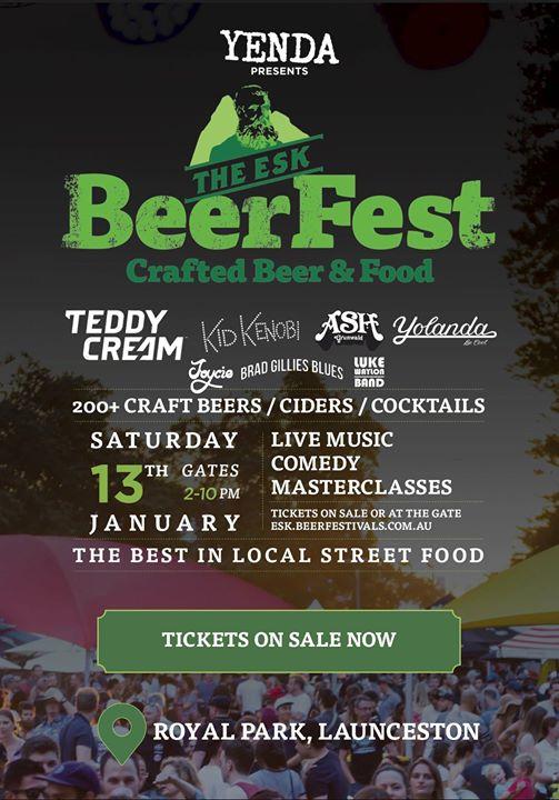 Yenda presents BeerFest Launceston