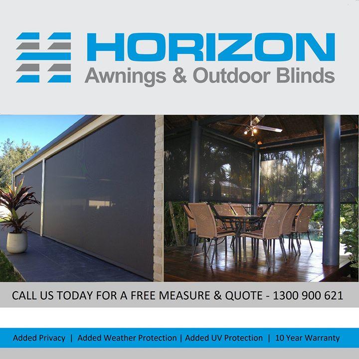 Horizon Awnings Outdoor Blinds Brisbane Redland City Look