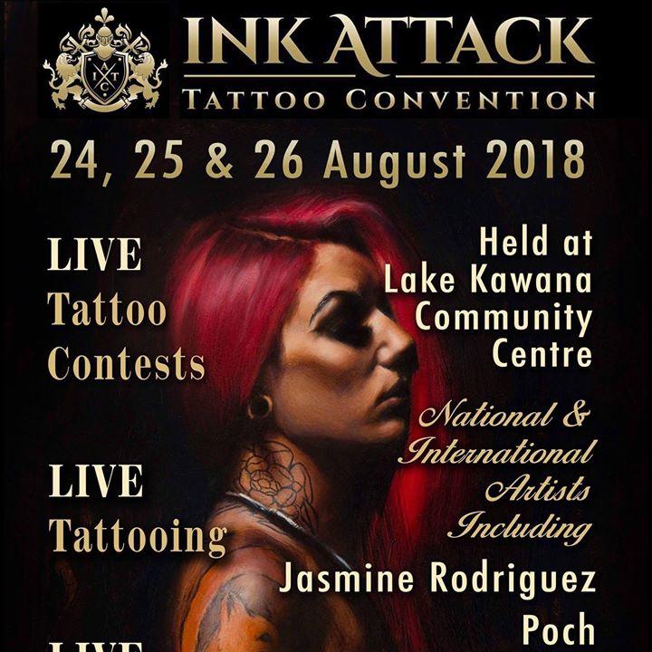 Ink Attack Tattoo Convention, Sunshine Coast